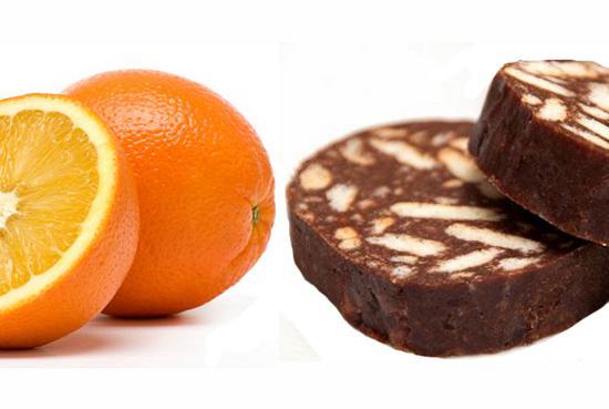 Μωσαϊκό με πορτοκάλι