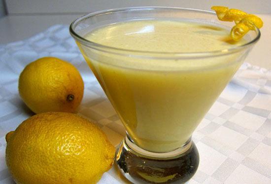 Lenten lemon cream