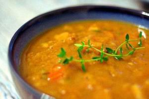 Χορτόσουπα με ταχίνι (νηστίσιμη)