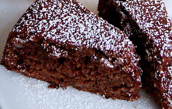 Αμυγδαλόπιτα με σοκολάτα