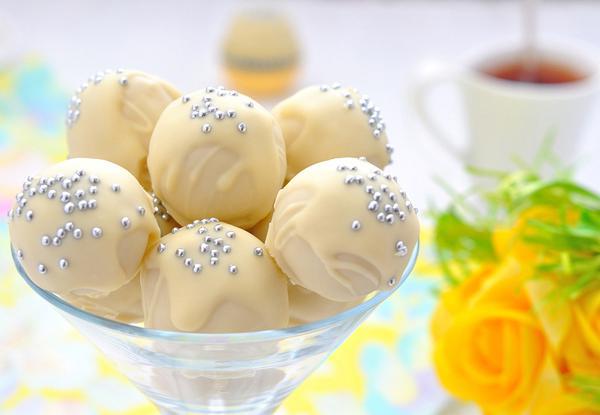 Σοκολατάκια με άρωμα λεμονιού