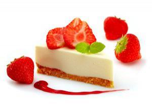 Cheesecake με φρέσκα φρούτα