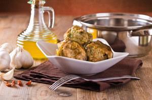 Αγκινάρες γεμιστές με γαρίδες και μανιτάρια στον φούρνο