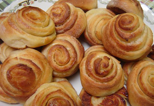 Butter pinwheel cookies