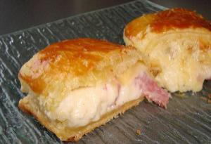 Μιλφέιγ με μπέικον και τυρί