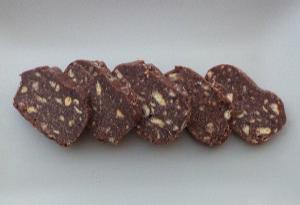 Μωσαϊκό σοκολάτας με ινδική καρύδα