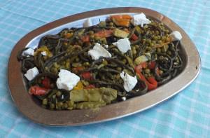 Λαχανικά με πορτοκάλι και ξύδι βαλσάμικο