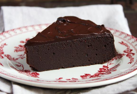 Quick chocolate pie