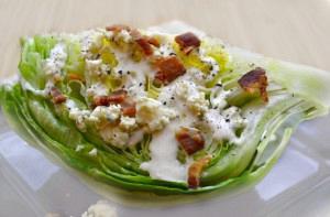 Σαλάτα με κρουτόν και blue cheese