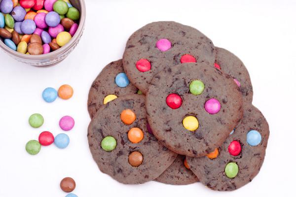 Μπισκότα με Smarties