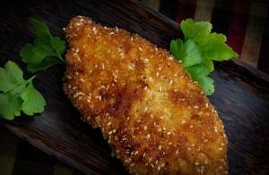 Στήθος κοτόπουλο πανέ