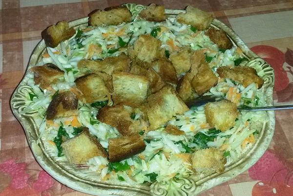 Σαλάτα εποχής πικάντικη