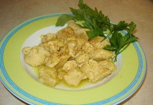 Lemon chicken bites