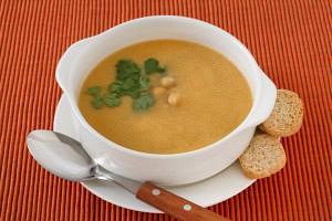 Ρεβύθια σούπα βελουτέ