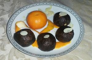 Τρούφες μανταρινιού