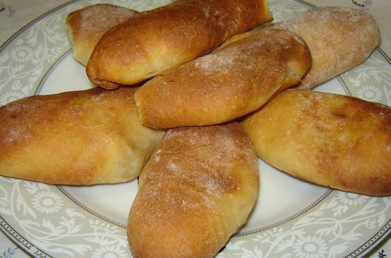 Minced meat piroshki