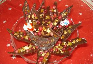 Σοκολατένια πανδαισία με ρόδι