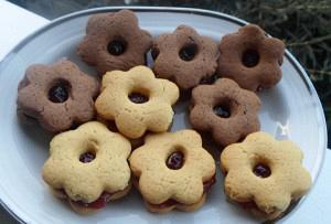 Μπισκότα γεμιστά