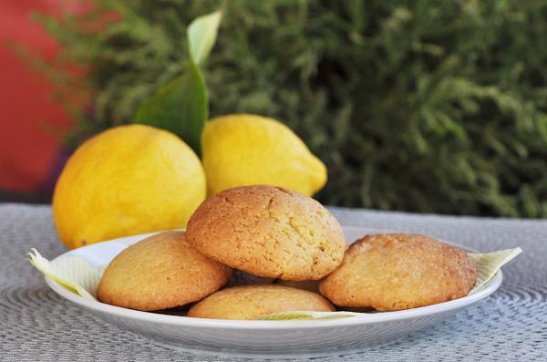 Cookies λεμονιού