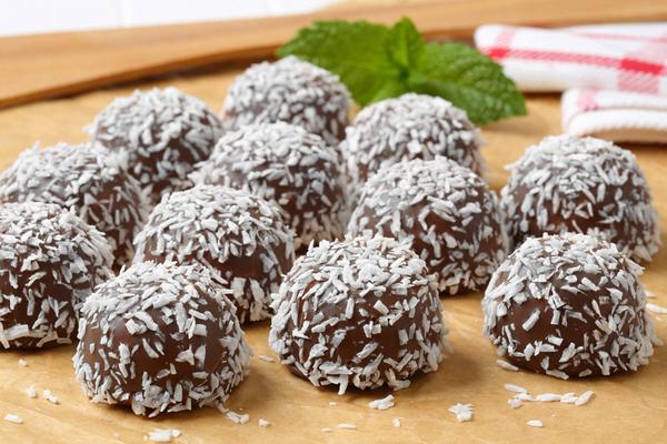 Σοκολατίνια με καρύδα