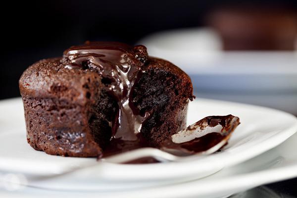 Σουφλέ σοκολάτα