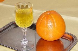 Λικέρ πορτοκάλι με ούζο