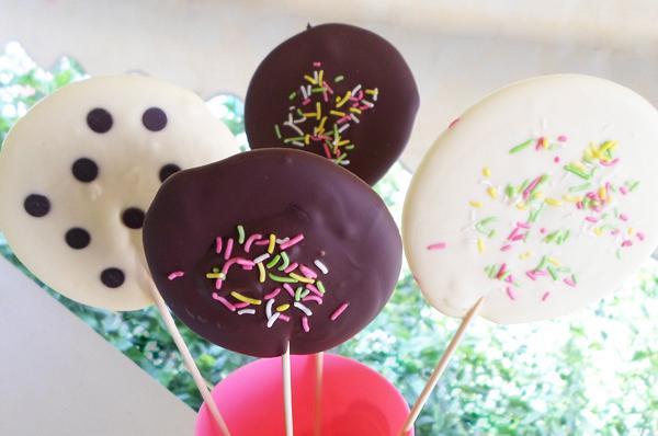 Γλειφιτζούρια σοκολάτας