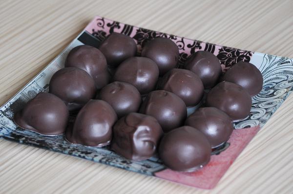 Σοκολατάκια με άρωμα μπανάνας