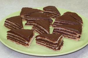 Chocolate striped delight