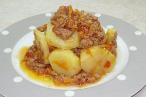 Πατάτες με κιμά