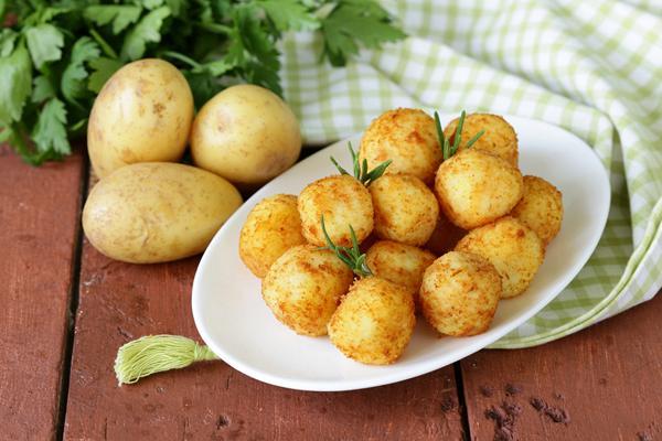 Baked potato croquettes
