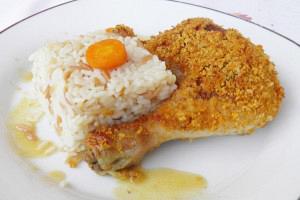Κοτόπουλο με κρούστα
