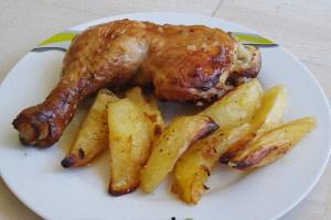 Κοτόπουλο στον φούρνο με μαρινάδα