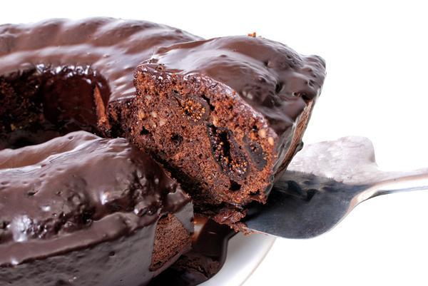 Κέικ με σύκα και σοκολάτα