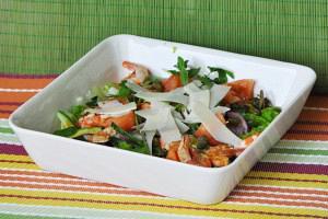 Σαλάτα με γαρίδες