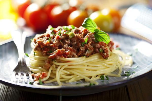 Σάλτσα με κιμά (bolognese)