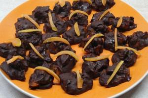 Σοκολατένιες μπουκιές βερίκοκου