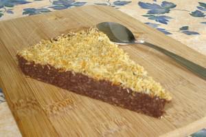Σοκολατόπιτα με κανταϊφι