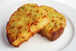 Garlic bread with parmesan