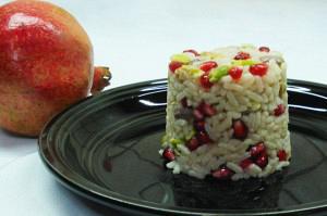 Ρύζι με ρόδι και Αιγίνης