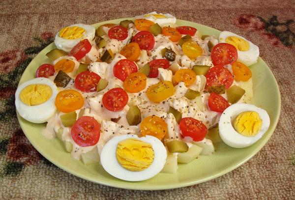 Chef's potato salad