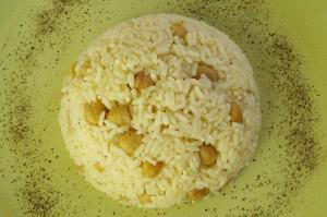Ρεβύθια με ρύζι (Nohutlu pilav)