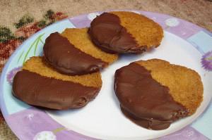 Φλωρεντίνες καταϊφιού με σοκολάτα