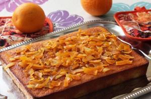 Quick orange pie