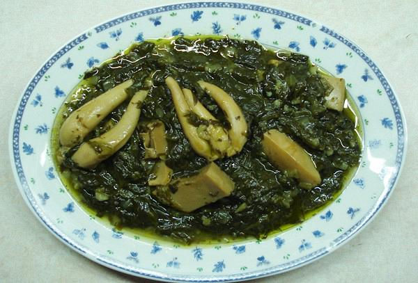 Cuttlefish fricassee