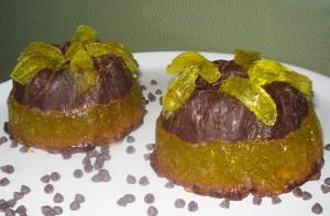 Νηστίσιμο γλυκό σοκολάτα – ζελέ