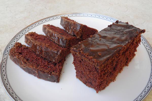 Σοκολατένιο νηστίσιμο κέικ