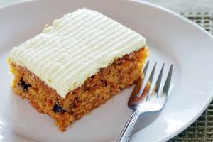 Κέικ καρότου με τυρί κρέμα