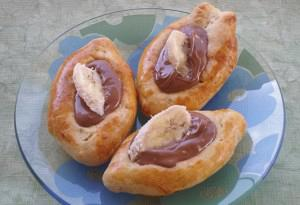 Praline – banana Greek peynirli