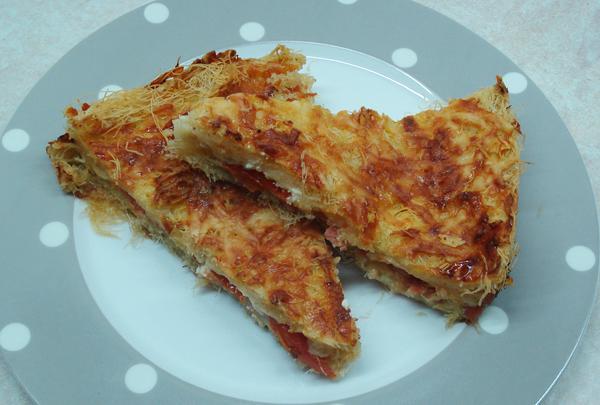 Πίτσα με καταϊφι